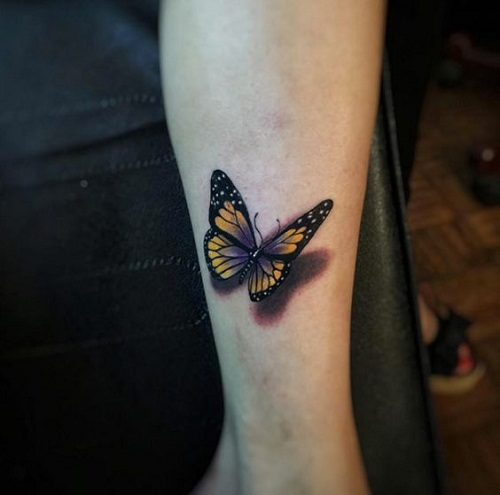 21 @ Butterfly Tattoo