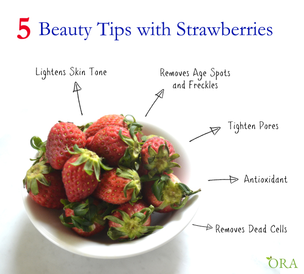 5 Beauty Tips with Strawberries