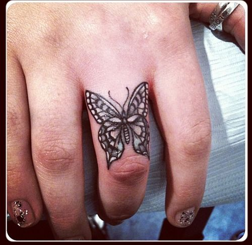 22 @ Butterfly Tattoo