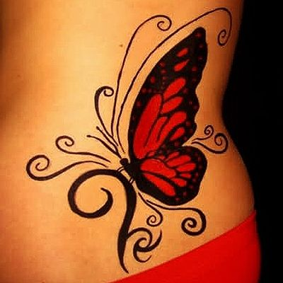 22 @ Butterfly Tattoos