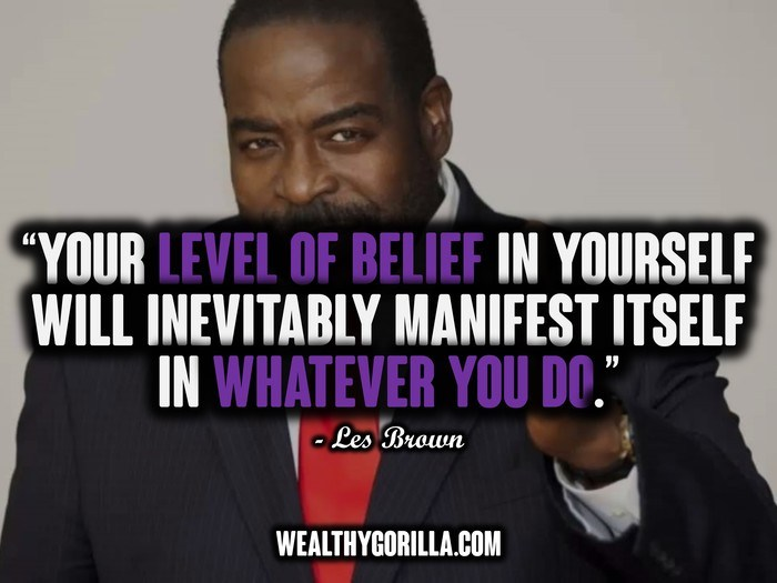 22 @ Les Brown Sayings