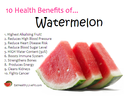 23 @ Health Benefits Of Watermelon