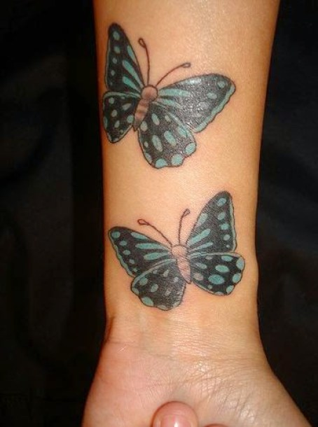 24 @ Butterfly Tattoo
