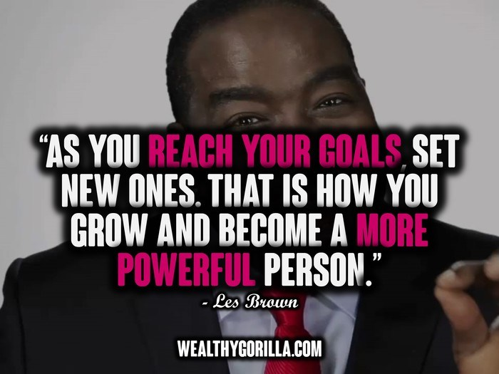 24 @ Les Brown Quotations