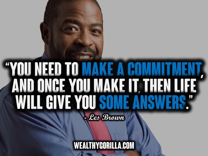 25 @ Les Brown Quotations
