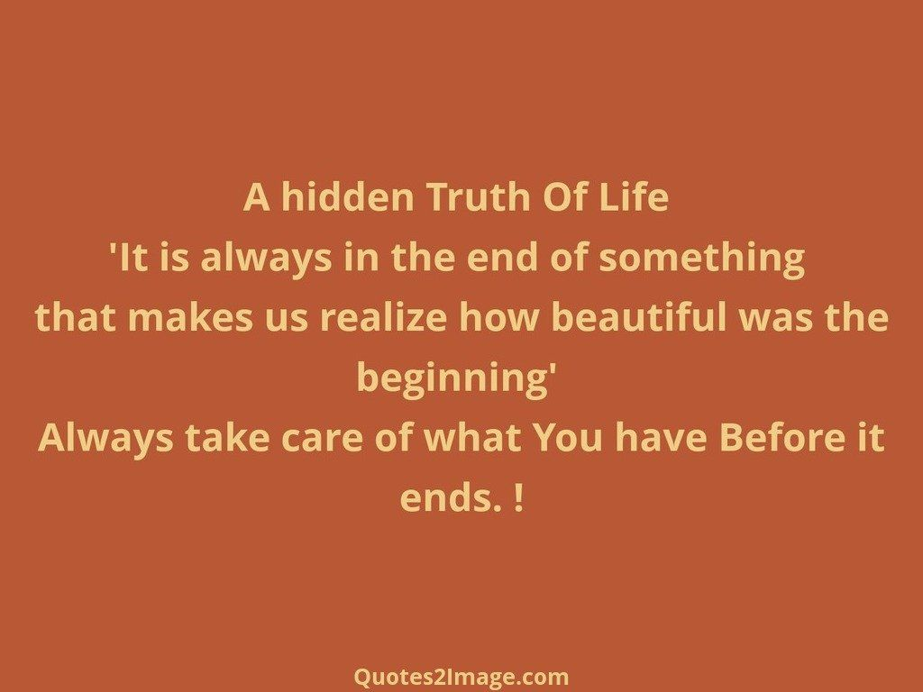 25 @ Truth Of Life Quotations
