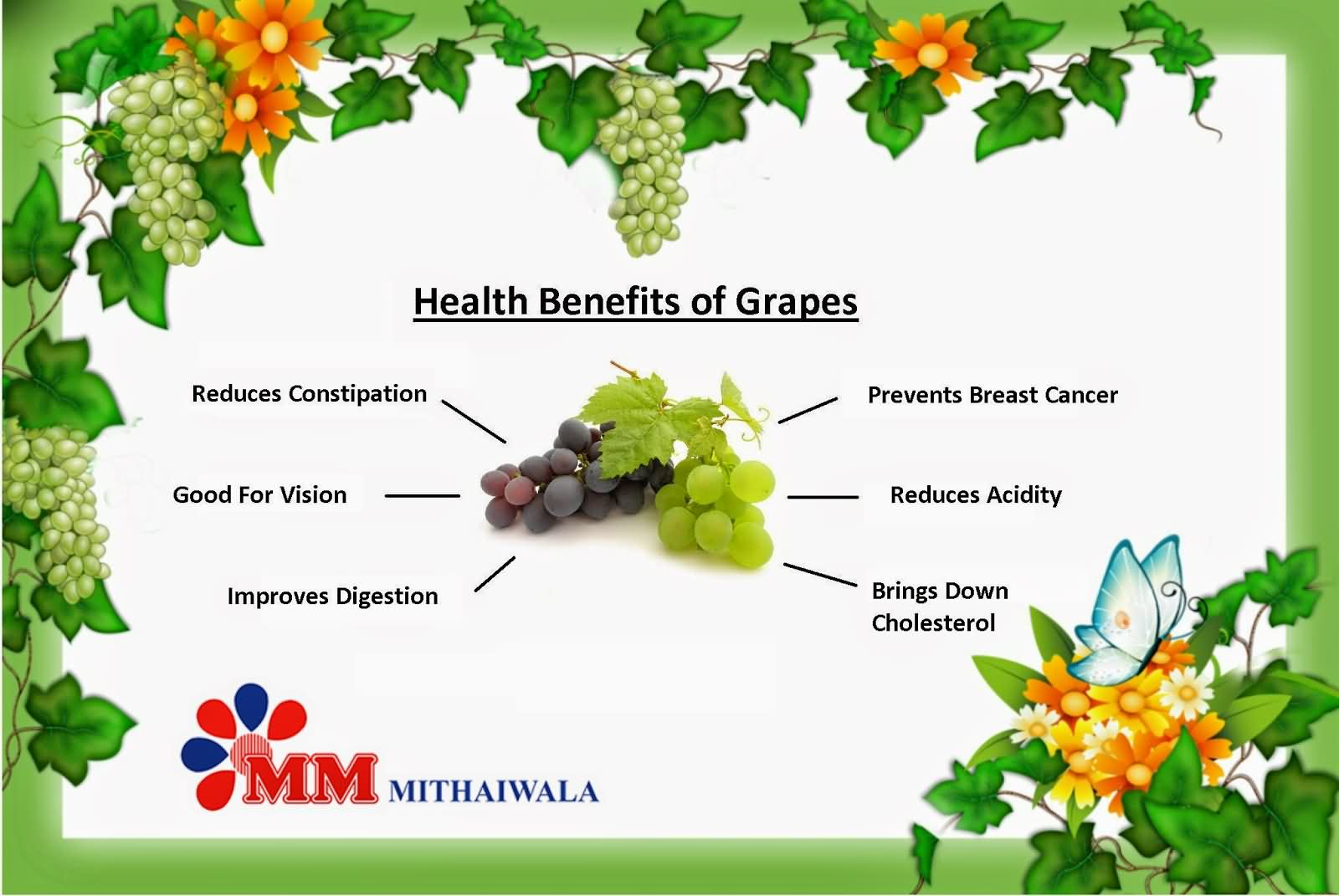 26 @ Health Benefits Of Grapes