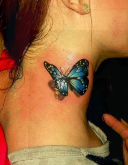 28 @ Butterfly Tattoo