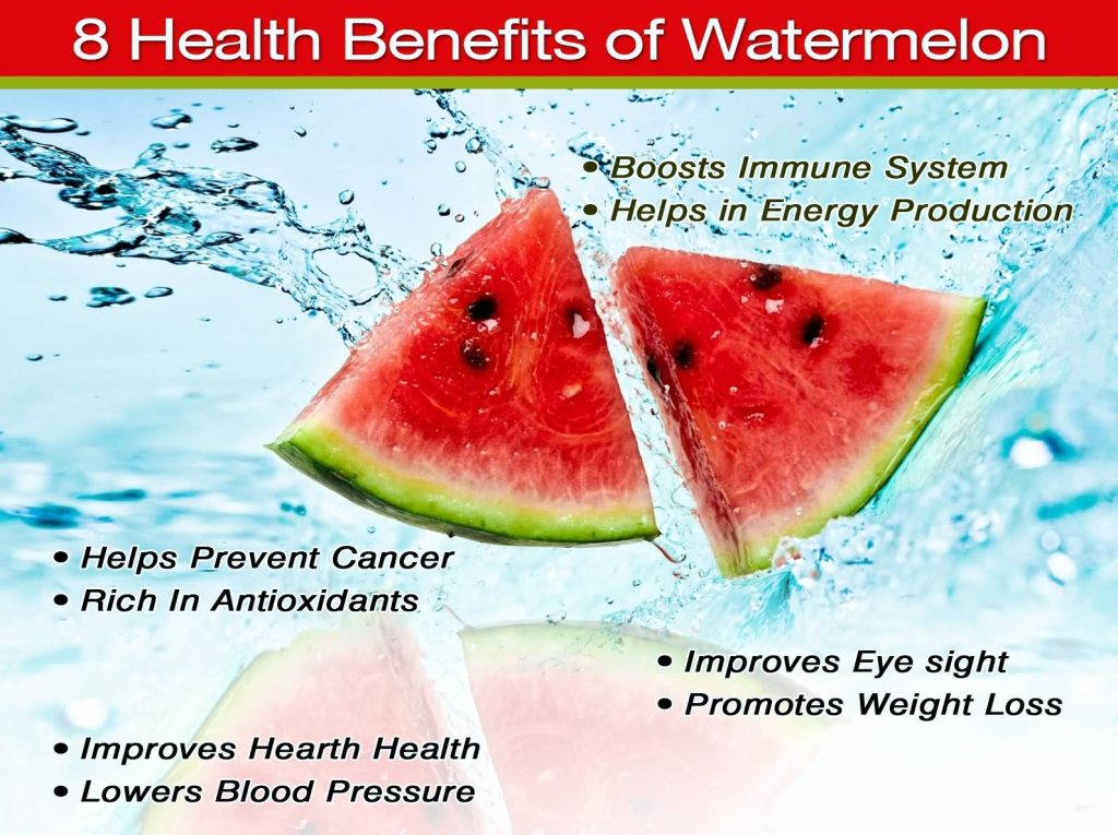29 @ Health Benefits Of Watermelon