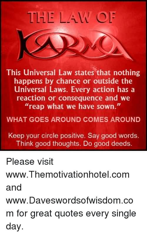 29 @ Universal Action Laws Quotes