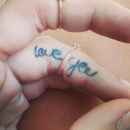 30 @ Finger Love Tattoos Monday