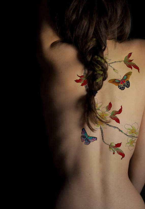 31 @ Butterfly Tattoos