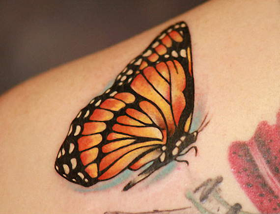32 @ Butterfly Tattoos