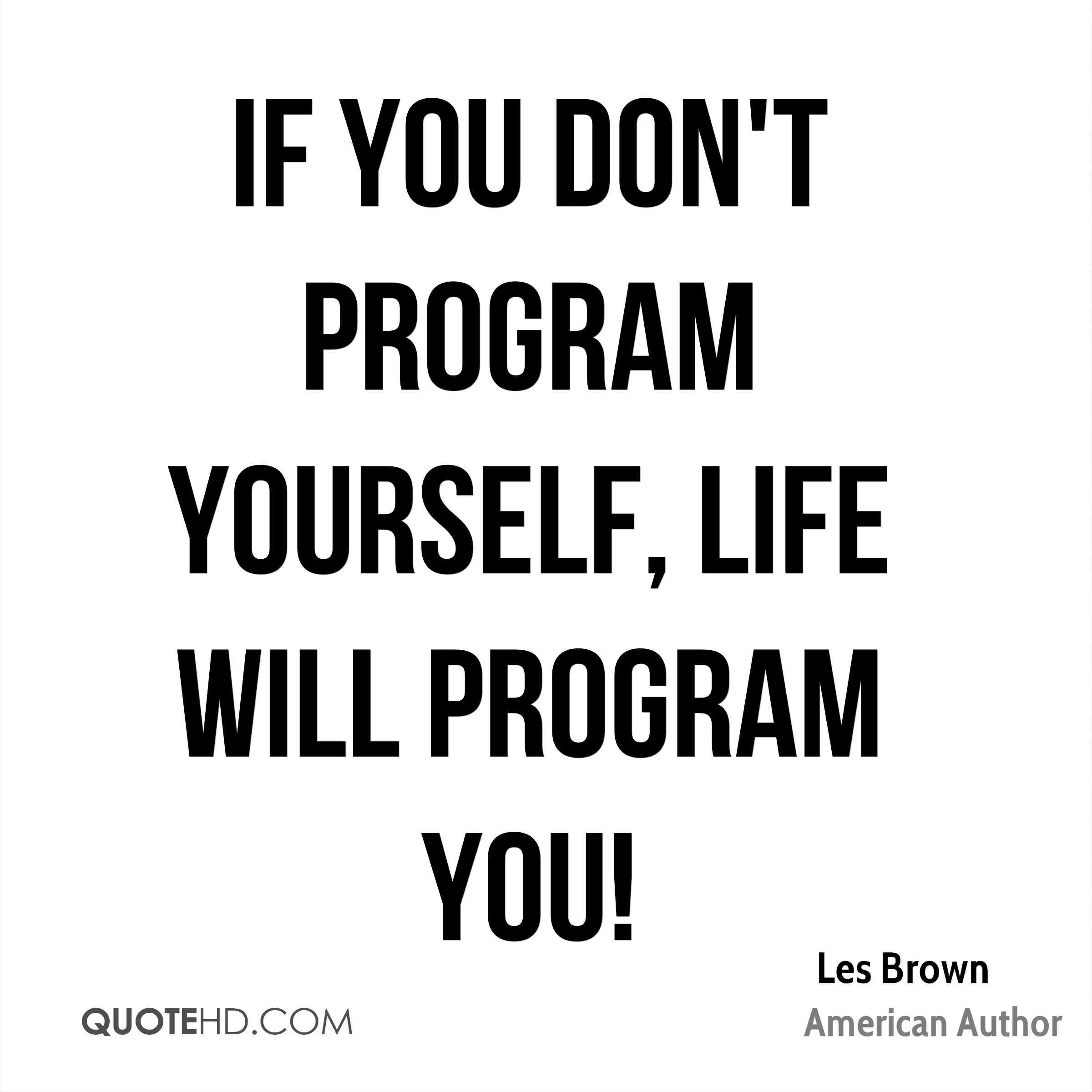 33 @ Les Brown Quotations