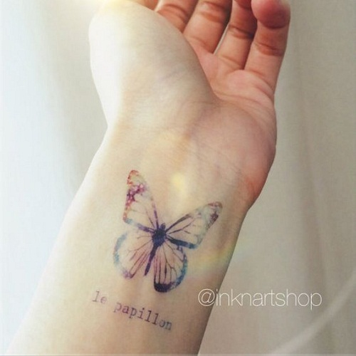 34 @ Butterfly Tattoo