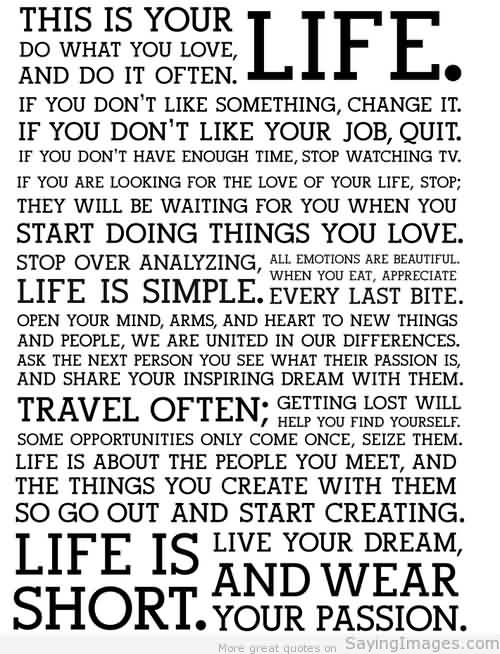 35 @ Life Quotes Hottest