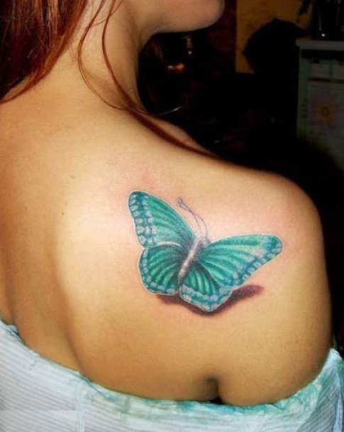 41 @ Butterfly Tattoo