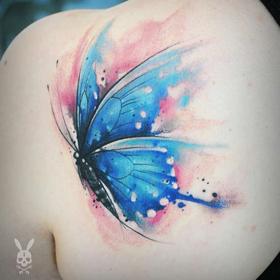 44 @ Butterfly Tattoos