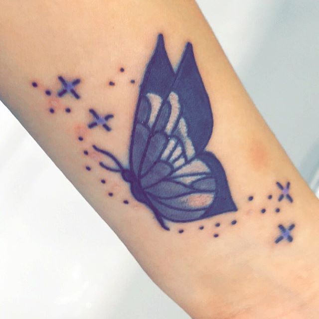 47 @ Butterfly Tattoos