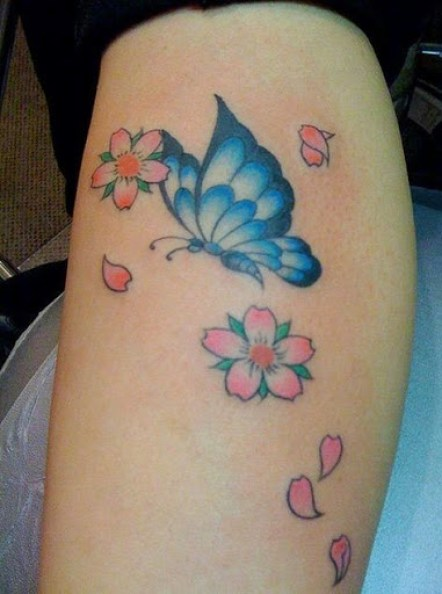 48 @ Butterfly Tattoo