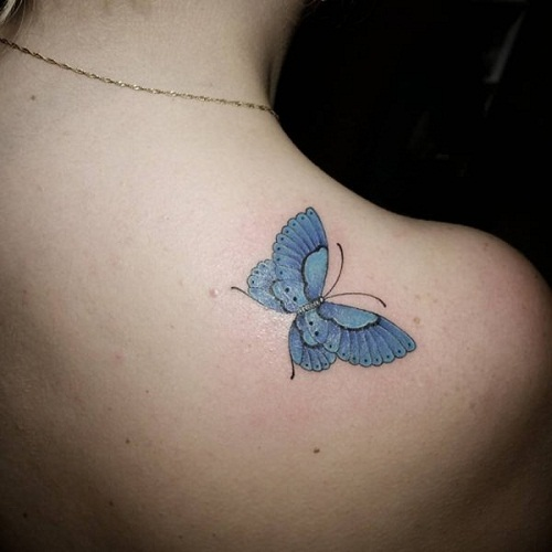 51 @ Butterfly Tattoo