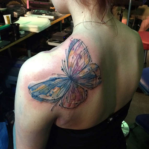 54 @ Butterfly Tattoos