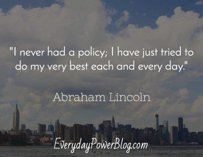 57 @ Abraham Lincoln Quotations