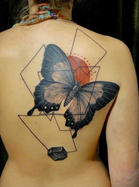 58 @ Butterfly Tattoo