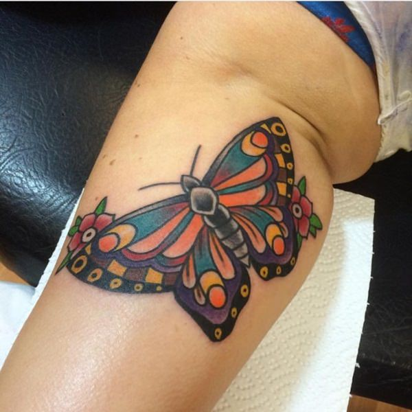 59 @ Butterfly Tattoo