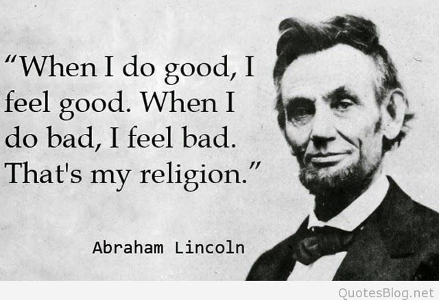 60 @ Abraham Lincoln Quotations