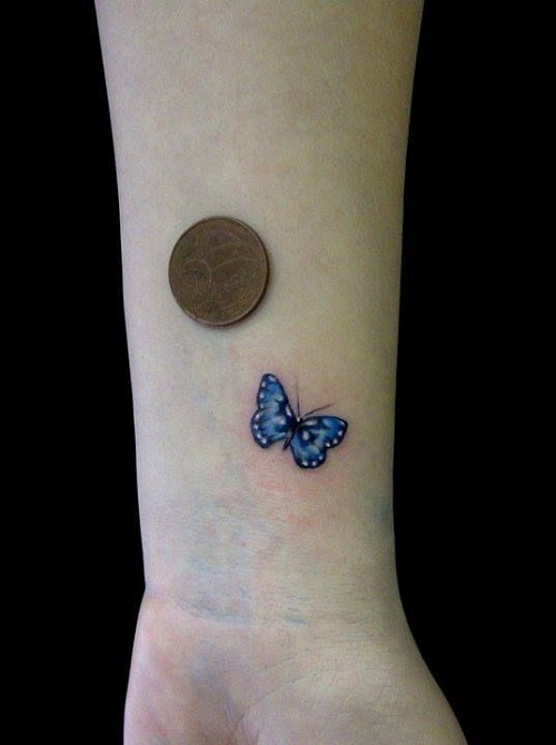 60 @ Butterfly Tattoo