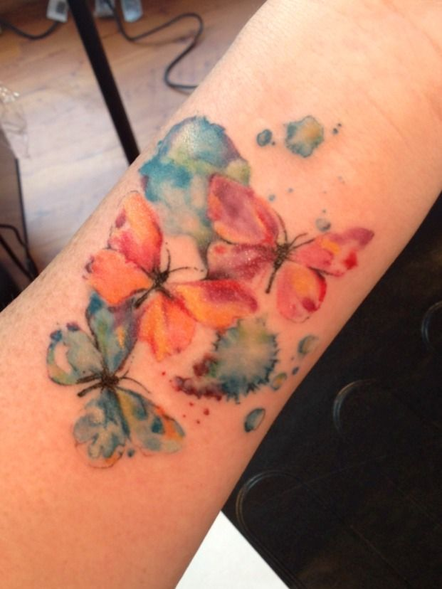61 @ Butterfly Tattoo