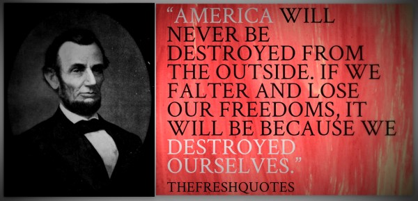 62 @ Abraham Lincoln Quotations