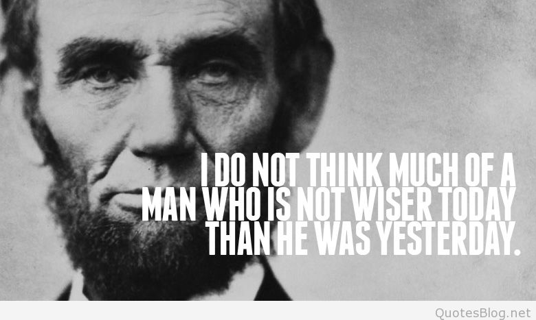 63 @ Abraham Lincoln Quotations