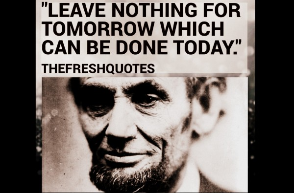 65 @ Abraham Lincoln Quotations