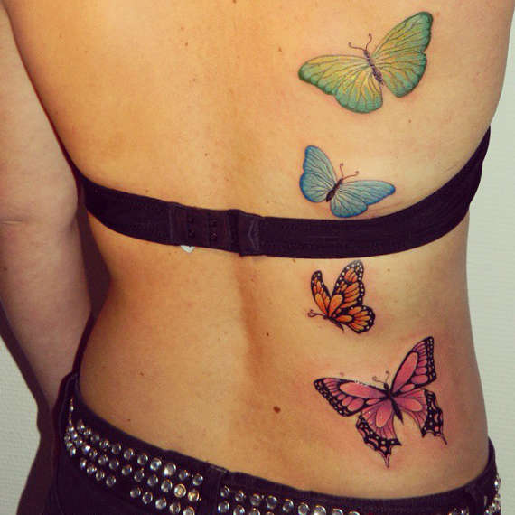95 gorgeous butterfly tattoos the beauty and the - HD 1024×1024