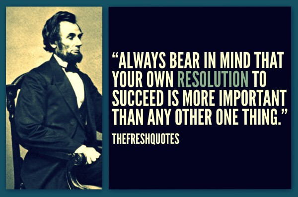 70 @ Abraham Lincon Quotes and Sayings