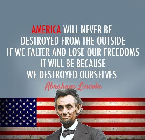 72 @ Abraham Lincoln Quotes and Sayings