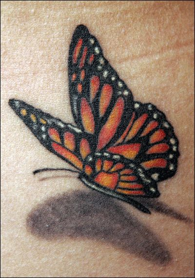 74 @ Butterfly Tattoo Nice