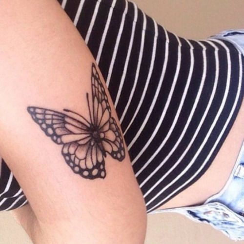 75 @ Butterfly Tattoos