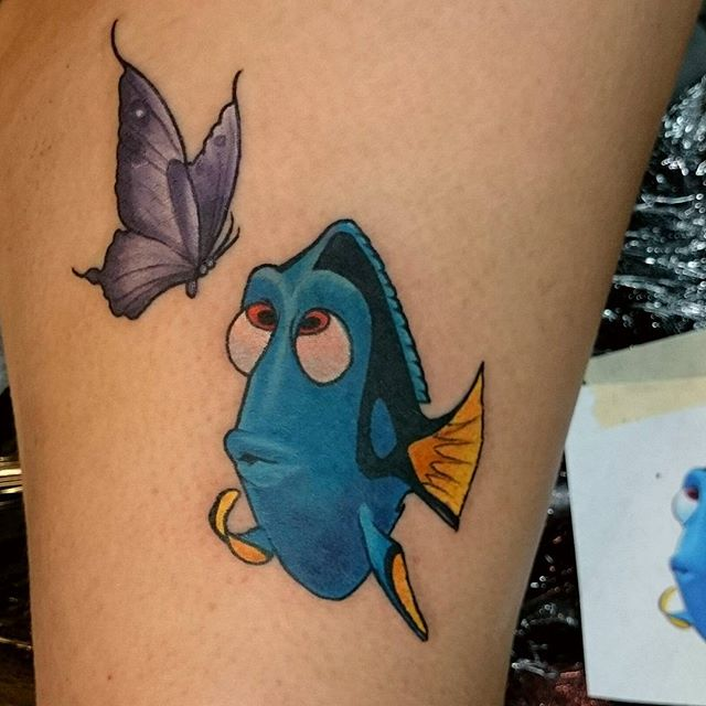 76 @ Butterfly Tattoo Coolest