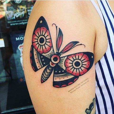 79 @ Butterfly Tattoo Famous