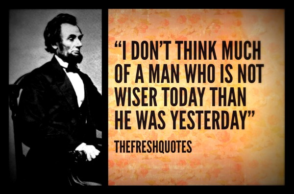 82 @ Abraham Lincoln Quotes and Sayings