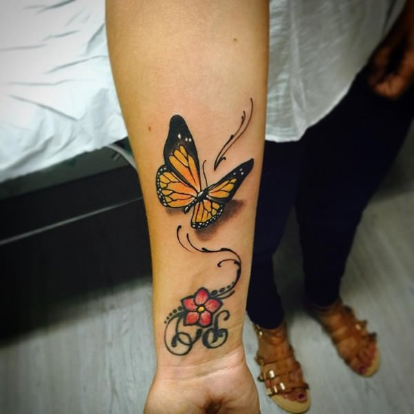 82 @ Butterfly Tattoos