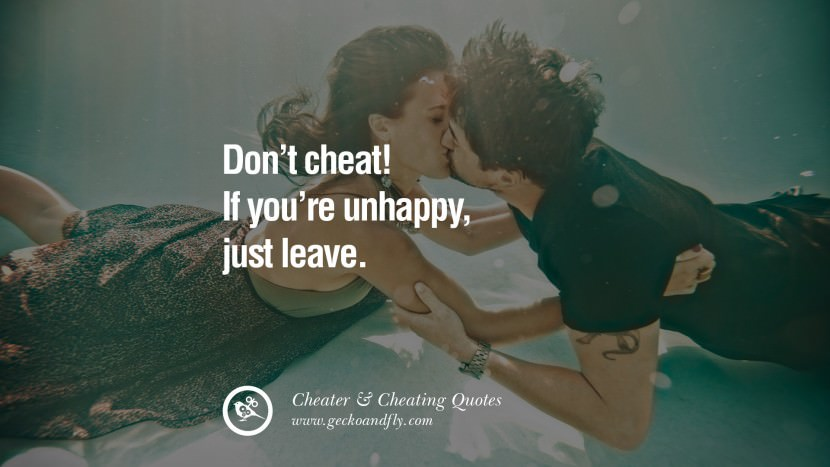 82 @ Cheating Quotes and Quotations