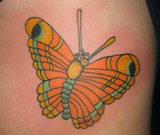 83 @ Butterfly Tattoos