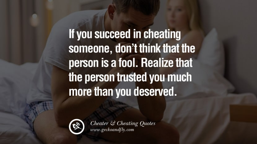 83 @ Cheating Quotes and Quotations