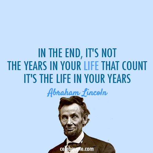 85 @ Abraham Lincon Quotes and Sayings