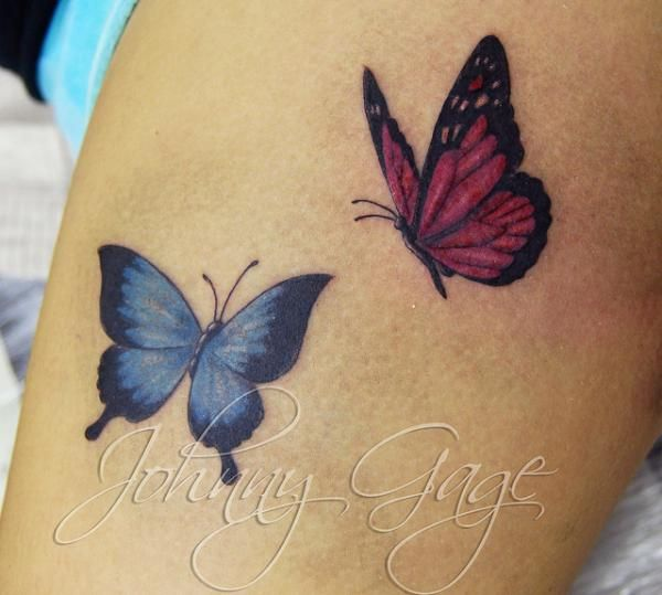 85 @ Butterfly Tattoos