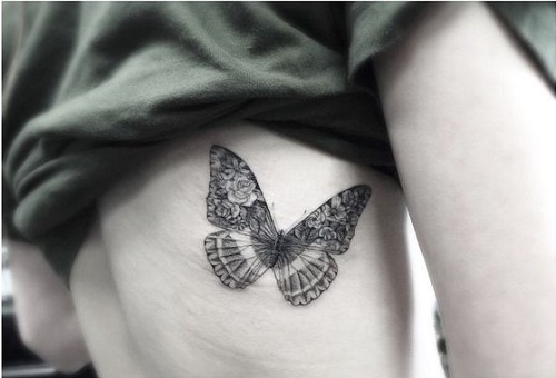 86 @ Butterfly Tattoos
